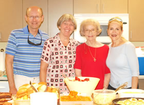 Cumberland Presbyterian Church women have provided TWO fabulous pot-luck meals for Greene County MDT meetings.