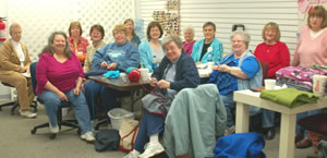 Dozens of Project Linus seamstresses annually sew hundreds of blankets that the CAC gives to the children we serve.