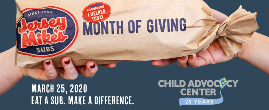 "JERSEY MIKE's ""DAY OF GIVING"""
