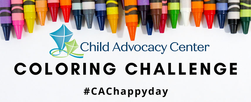 Child Advocacy Center Coloring Challenge
