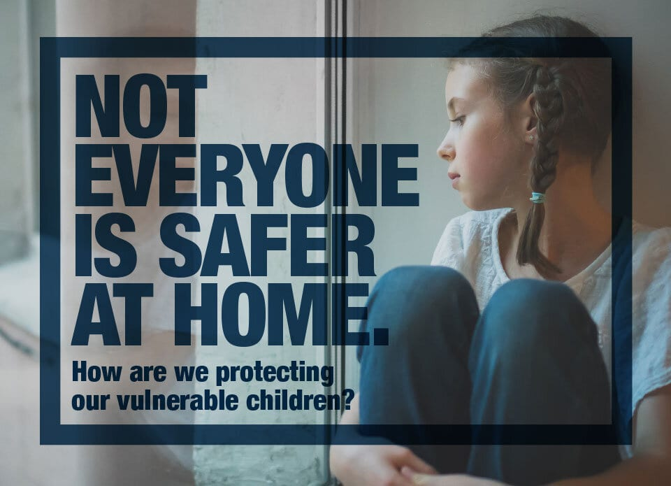 Not Everyone Is Safer At Home